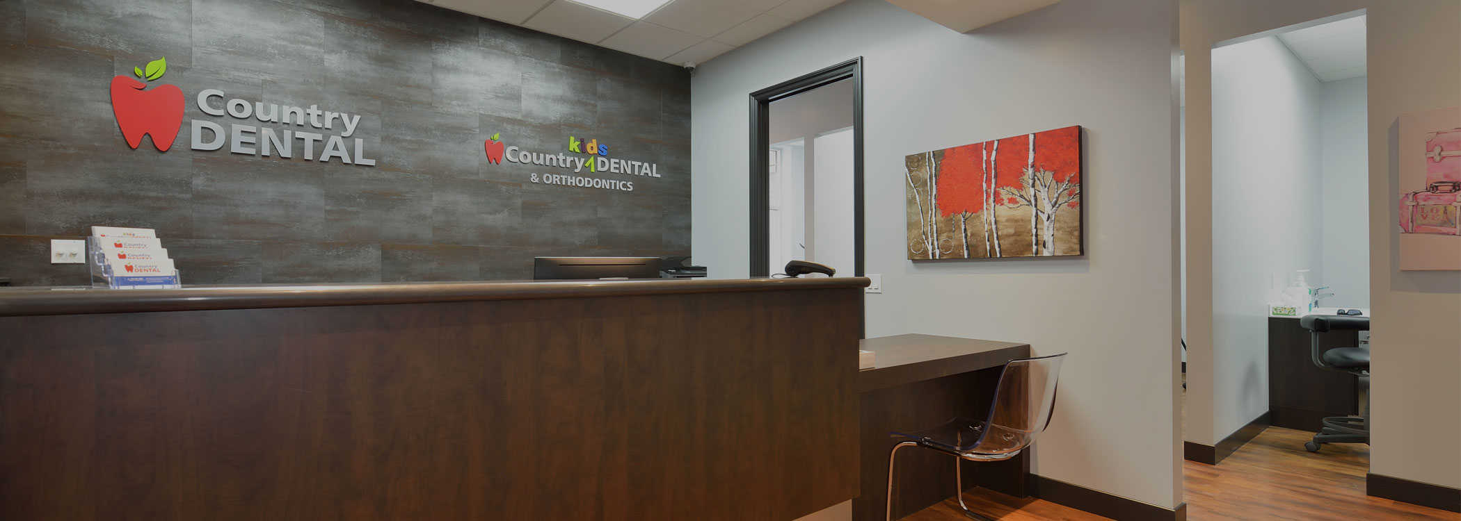 Fergus dental clinic reception at Country Dental Clinic