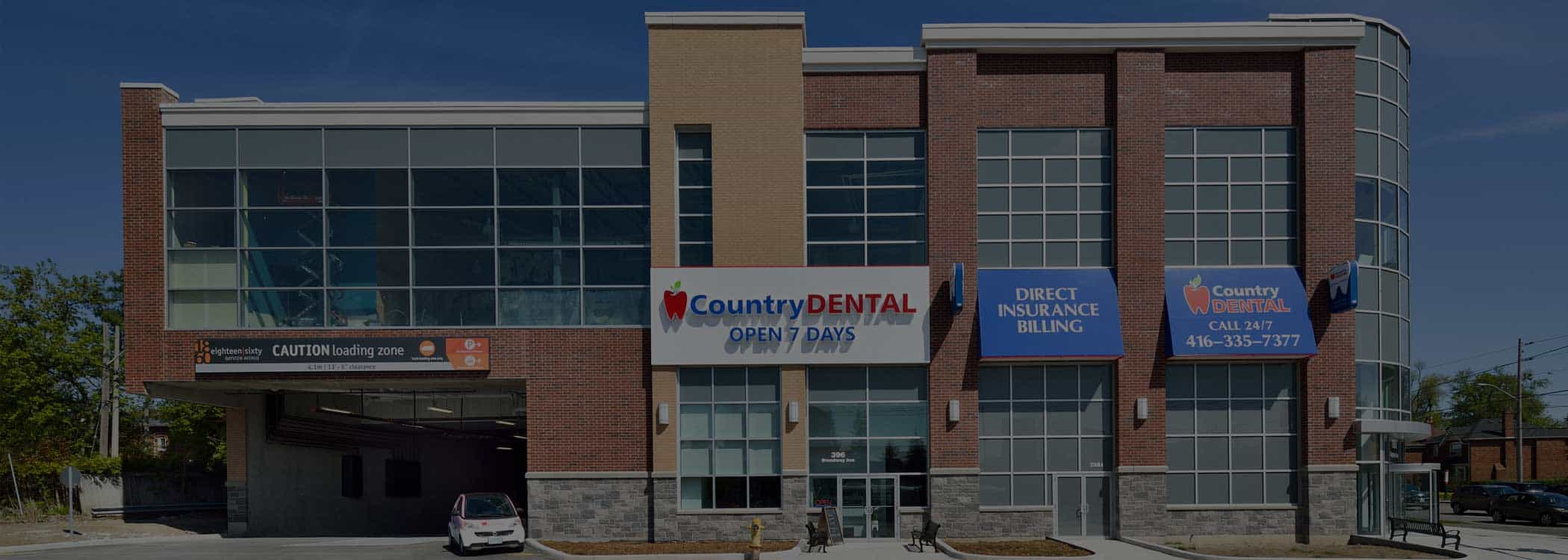 Exterior photo of Country Dental Clinic in Cambridge ON